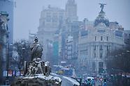 010821 Heaviest snowfall in Madrid