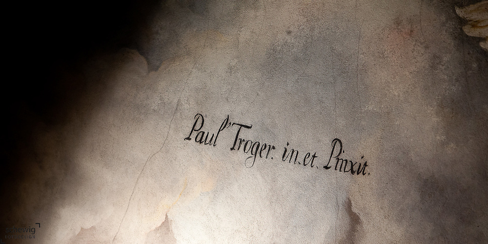 Detailaufnahmen von Paul-Troger-Fresken