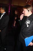 Jack Soames, The Black and White Winter Ball. Old Billingsgate. London. 8 February 2006. -DO NOT ARCHIVE-© Copyright Photograph by Dafydd Jones 66 Stockwell Park Rd. London SW9 0DA Tel 020 7733 0108 www.dafjones.com
