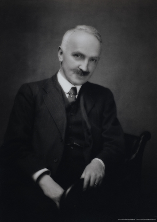 James Milne, literary editor of Daily Chronicle, England, UK, 1915