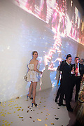 NADJA MICHEL, A Tribute to Cinema party given by Moet and Chandon.Big Sky Studios, Brewery Rd. London.  24 March 2009 *** Local Caption *** -DO NOT ARCHIVE-© Copyright Photograph by Dafydd Jones. 248 Clapham Rd. London SW9 0PZ. Tel 0207 820 0771. www.dafjones.com.<br /> NADJA MICHEL, A Tribute to Cinema party given by Moet and Chandon.Big Sky Studios, Brewery Rd. London.  24 March 2009