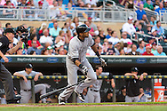 Alex Rios #51 of the Chicago White Sox bats against the Minnesota Twins on June 19, 2013 at Target Field in Minneapolis, Minnesota.  The Twins defeated the White Sox 7 to 4.  Photo: Ben Krause