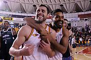 Giuliano Maresca Davide Raucci<br /> Virtus Roma - Soundreef Siena<br /> Campionato Basket LNP 2017/2018<br /> Roma 15/04/2018<br /> Foto Gennaro Masi / Ciamillo - Castoria
