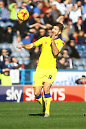 Luke Murphy of Leeds united in action. Skybet football league Championship match, Huddersfield Town v Leeds United at the John Smith's Stadium in Huddersfield, Yorks on Saturday 7th November 2015.<br /> pic by Chris Stading, Andrew Orchard sports photography.