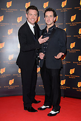 Dick and Dom attend the RTS Programme Awards. London, United Kingdom. Tuesday, 18th March 2014. Picture by Chris Joseph / i-Images