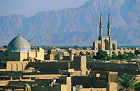 Iran. Ville de Yazd. // Iran. City of Yazd