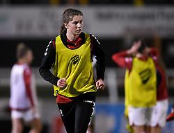 Emma Bissell of Bristol City Women - Mandatory by-line: Ryan Hiscott/JMP - 13/01/2021 - FOOTBALL - Twerton Park - Bath, England - Bristol City Women v Aston Villa Women - FA Continental Cup quarter final
