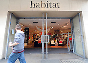 © licensed to London News Pictures. LONDON, UK.  24/06/11. The Habitat store in Kings Road Chelsea, today (24 June 2011). The owner of Argos has bought the Habitat brand in the UK and its three top London stores, including King's Road, Chelsea, for £24.5m but the rest of the UK chain has been placed in administration as part of a major restructuring that could result in more than 700 job losses. .Mandatory Credit Stephen Simpson/LNP