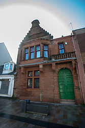 Lodge Mother Kilwinning is a Masonic Lodge in Kilwinning, Scotland under the auspices of the Grand Lodge of Scotland. It is number 0 on the Roll, and is reputed to be the oldest Lodge not only in Scotland, but the world. It is thus styled The Mother Lodge of Scotland attributing its origins to the 12th Century, and is often called Mother Kilwinning..©Michael Schofield..