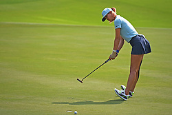 SINGAPORE, March 3, 2018  Michelle Wie of the United States competes during the 3rd round of the HSBC Women's World Championship held in Singapore's Sentosa Golf Club on March 3, 2018. (Credit Image: © Then Chih Wey/Xinhua via ZUMA Wire)