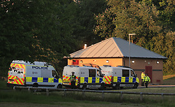 Police at the scene after they raided a block of flats in Blackley, north Manchester, following the attack on Manchester Arena where a suicide bomber killed 22 people leaving a pop concert at the venue on Monday night.