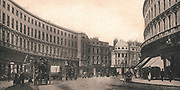 Regent Street, London, England, viewed from Piccadilly Circus, c1900.