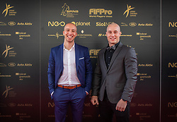 F&B Acrobatics during SPINS XI Nogometna Gala 2019 event when presented best football players of Prva liga Telekom Slovenije in season 2018/19, on May 19, 2019 in Slovene National Theatre Opera and Ballet Ljubljana, Slovenia. ,Photo by Urban Meglic / Sportida