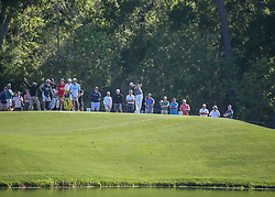 March 30, 2018 - Humble, TX, U.S. - HUMBLE, TX - MARCH 30:  Brandt Snedeker (USA) watches his tee shot on 7 during Round 2 of the Houston Open on March 30, 2018 at Golf Club of Houston in Humble, Texas.  (Photo by Leslie Plaza Johnson/Icon Sportswire) (Credit Image: © Leslie Plaza Johnson/Icon SMI via ZUMA Press)