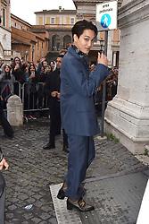 Rome, Piazza Del Campidoglio Event Gucci Parade at the Capitoline Museums, In the picture: Exo Kai