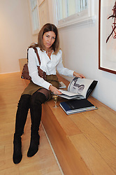 EVE HENDERSON at a pre lunch reception to celebrate the launch of the new Louisa Guinness gallery at Ben Brown Fine Art, Cork Street, London on 18th November 2009.