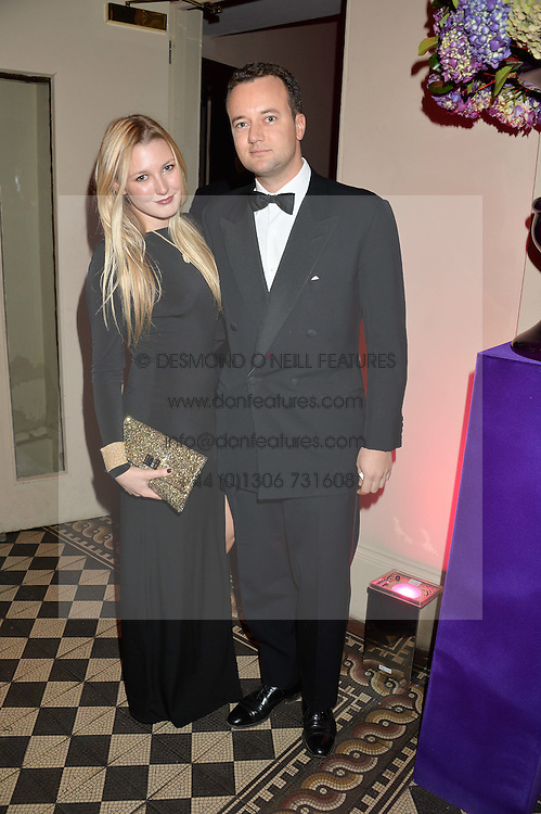The MARQUESS OF BRISTOL and MILLI BENNETT at the Sugarplum Dinner - The event was for the launch of Sugarplum Children, a new website and fundraising initiative for children who live with type 1 diabetes, and to raise money for JDRF (Juvenile Diabetes Research Foundation) held at One Mayfair, 13A North Audley Street, London on 20th November 2013.