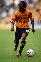 Photo: Rich Eaton.<br /> <br /> Wolverhampton Wanderers v Luton Town. Coca Cola Championship. 26/08/2006. Jemal Johnson scorer of Wolves only goal in the 1-0 victory over Luton