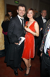 Actor MICHAEL SHEEN and actress LORRAINE STEWART at a party following the world premier of the musican Sinatra at The London Palladium, held at The Palm Court, Waldorf Hotel, Aldwych, London WC2 on 8th March 2006.<br />