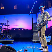 Thurston Moore and John Maloney perform during the Station to Station tour, an artist-driven public art project made possible by Levi's.
