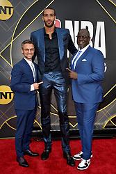 Rudy Gobert attends the 2019 NBA Awards at Barker Hangar on June 24, 2019 in Santa Monica, CA, USA. Photo by Lionel Hahn/ABACAPRESS.COM
