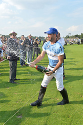 FACUNDO PIERES at the Audi International Polo at Guards Polo Club, Windsor Great Park, Egham, Surrey on 26th July 2014.