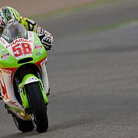 2011 MotoGP World Championship, Round 18, Valencia, Spain, 6 November 2011, Loris Capirossi