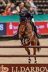 ZIEGENFUß Anna (GER), Quebo<br /> Leipzig - Partner Pferd 2020<br /> SPOOKS-Amateur Trophy - MediumTour<br /> Springprüfung nach Fehlern und Zeit, international<br /> 16. Januar 2020<br /> © www.sportfotos-lafrentz.de/Stefan Lafrentz