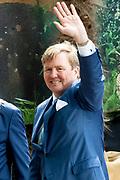 Koningsdag 2019 in Amersfoort / Kingsday 2019 in Amersfoort.<br /> <br /> Op de foto:  Koning Willem-Alexander///  King Willem-Alexander