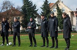 Dejan Grabić, head coach of Bravo during first practice session of NK Bravo before the spring season of Prva liga Telekom Slovenije 2020/21, on January 5, 2021 in Sports park ZAK, Ljubljana Slovenia. Photo by Vid Ponikvar / Sportida