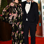 Arrivers at EE British Academy Film Awards in 2019 after-party dinner at Grosvenor house on 10 Feb 2019.