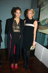 Left to right, ROSE HANBURY and the HON.SOPHIA HESKETH at a party to celebrate the publication of 'The year of Eating Dangerously' by Tom Parker Bowles held at Kensington Place, 201 Kensington Church Street, London on 12th october 2006.<br /><br />NON EXCLUSIVE - WORLD RIGHTS