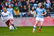 Manchester City Women midfielder Tyler Toland (12) in action during the FA Women's Super League match between Manchester City Women and West Ham United Women at the Sport City Academy Stadium, Manchester, United Kingdom on 17 November 2019.