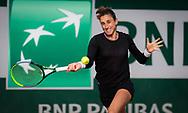 Petra Martic of Croatia in action against Veronika Kudermetova of Russia during the second round at the Roland Garros 2020, Grand Slam tennis tournament, on October 1, 2020 at Roland Garros stadium in Paris, France - Photo Rob Prange / Spain ProSportsImages / DPPI / ProSportsImages / DPPI