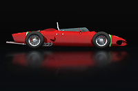 The Ferrari 156 Shark Nose is a true thoroughbred racing craze that was released by Ferrari as a coup in the racing world at that time and Ferrari still does this with more recent models.<br />