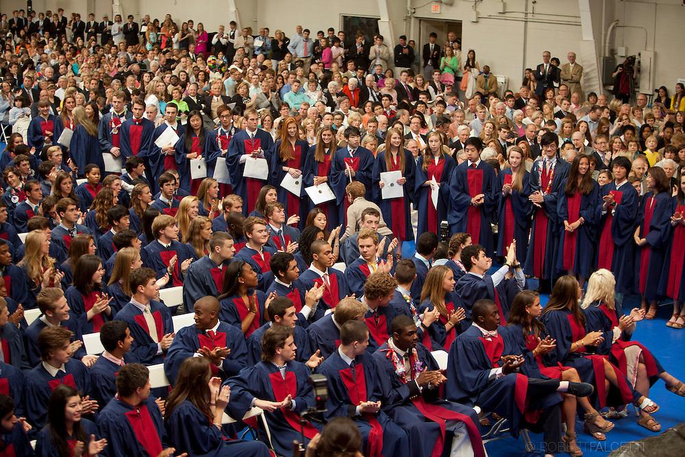 Taft School-May 26, 2013- Taft Graduation. (Photo by Robert Falcetti)