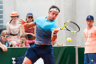 Alessandro Giannessi (ita) during the Roland Garros French Tennis Open 2018, Preview, on May 21 to 26, 2018, at the Roland Garros Stadium in Paris, France - Photo Pierre Charlier / ProSportsImages / DPPI
