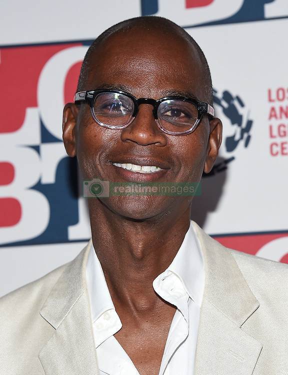 September 23, 2017 - Beverly Hills, California, U.S. - Mark Bradford arrives for the LGBT Center's 48th Annual Vanguard Awards at the Beverly Hilton Hotel. (Credit Image: © Lisa O'Connor via ZUMA Wire)