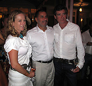 Anne & Jay McInerney with NY Governor David Paterson..The Second Annual Best Buddies Hamptons..Anne and Jay McInerney Private Home..Water Mill, NY, USA..Friday, August 21, 2009. .Photo By Celebrityvibe.com.To license this image please call (212) 410 5354; or Email: Celebrityvibe@gmail.com ;.website: www.Celebrityvibe.com