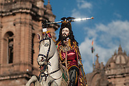 "Feast of Corpus Christi. Santiago the ""matamoros"""