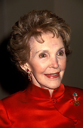 NANCY REAGAN. APRIL 13TH, 1999. NYC. EXPA Pictures © 2016, PhotoCredit: EXPA/ Photoshot/ Dennis Van Tine<br /> <br /> *****ATTENTION - for AUT, SLO, CRO, SRB, BIH, MAZ, SUI only*****
