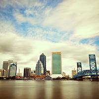My hometown: Jacksonville, Fla. from Friendship Park.