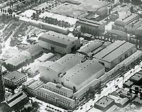 1934 Aerial view of United Artist Studios. Formerly Pickford Fairbanks Studio