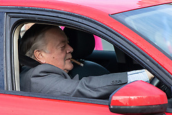 © Licensed to London News Pictures. 04/11/2019. London, UK. Father of the House Ken Clarke MP arrives at the Houses of Parliament. The new Speaker of the House of Commons will be decided by a vote starting later this afternoon. Photo credit : Tom Nicholson/LNP