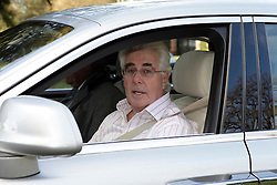 © Licensed to London News Pictures. 07/12/2012. Surrey, U.K..MAX CLIFFORD returning home from an appointment (this morning 07/12/12) in his rolls royce briefly talks to media from outside his house in surrey. CLIFFORD was released on bail from police custody last night  where he spent the whole day in belgravia police station regarding sexual abuse allegations under operation yewtree ..Photo credit : Rich Bowen/LNP