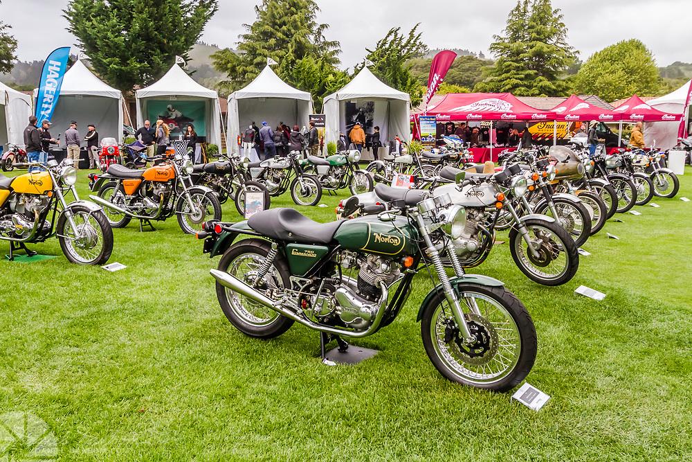 The Quail Motorcycle Gathering, Carmel Valley, California