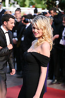 Kate Upton at the On The Road gala screening red carpet at the 65th Cannes Film Festival France. The film is based on the book of the same name by beat writer Jack Kerouak and directed by Walter Salles. Wednesday 23rd May 2012 in Cannes Film Festival, France.