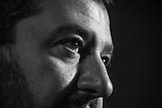 Matteo Salvini durante un incontro a Roma per il no al Referendum costituzionale<br /> 19 novembre  2016 . Daniele Stefanini /  OneShot<br /> <br /> Leader of Italian Northern League (Lega Nord), Matteo Salvini, during the protest against at the upcoming referendum on constitutional reform on November 19, 2016 in Rome. Daniele Stefanini /  OneShot