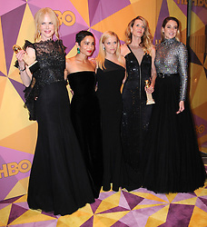 07 January 2018 - Beverly Hills, California - Nicole Kidman, Zoe Kravitz, Reese Witherspoon, Laura Dern, Shalene Woodley. 2018 HBO Golden Globes After Party held at The Beverly Hilton Hotel in Beverly Hills. Photo Credit: Birdie Thompson/AdMedia