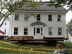 Grindle House on Rollers, Castine, Maine, US